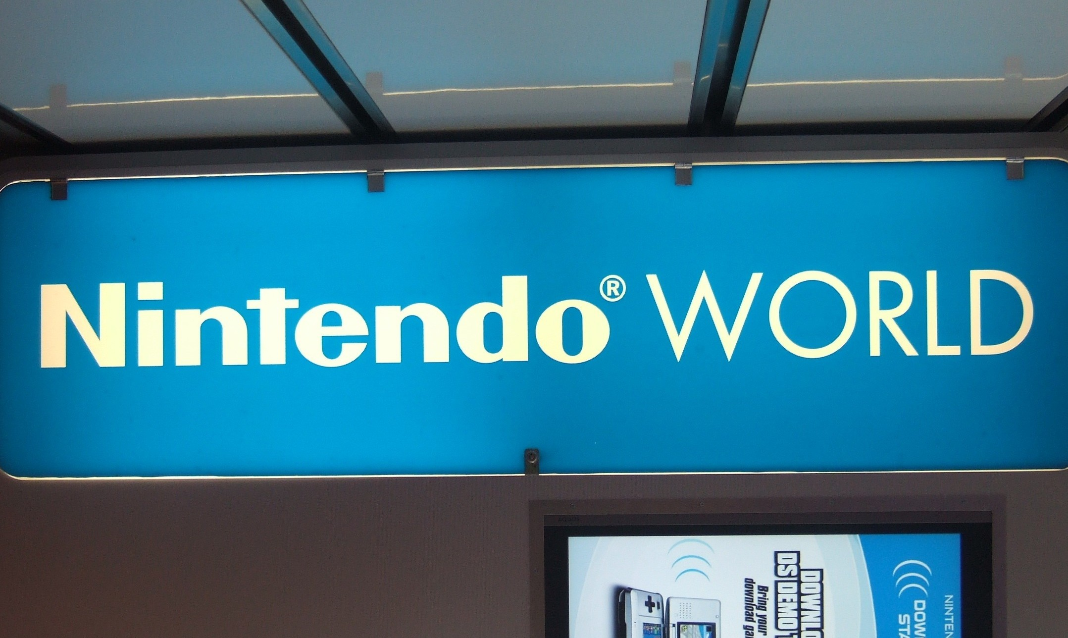 030 - nintendo world sign